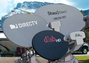 FTA Direct TV Bell Dish Shaw Satellite ▼Aiming ▼Service ▼Install