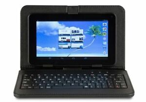 Proscan plt9649g 9 In Tablet with Keyboard case and HDMI adapter