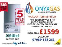 Boiler Installation from only £399 / replacement / swap / repair/change underfloor heating /plumbing