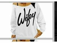 WIFEY TOP, WILL REMOVE AD WHEN SOLD