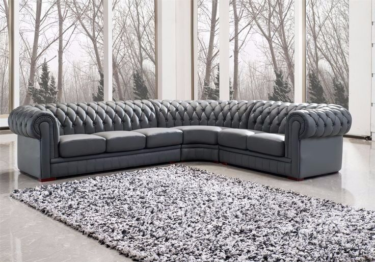 Charlotte Chesterfield Fabric Sofa Suite