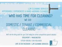 LJM cleaning services / domestic / commercial / tenancy