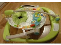 Good condition. Space saver jumperoo. Clean and from smoke and pet free home.