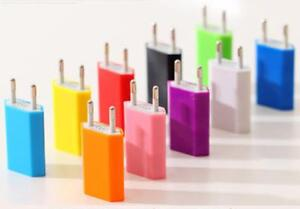 EU or US/Can USB Home Travel Wall Charger Plug Power Adapter