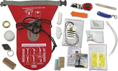 Bushcraft Impermeable Supervivencia Juego Kit de Emergencia