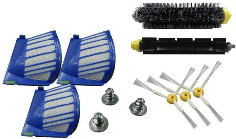 EFP Accessory Kit for iRobot Roomba 600 610 620 650 Series Vacuum Cleaner