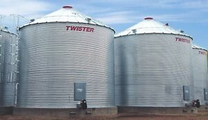Twister/Westeel Flat Bottom and Hopper Bins Available
