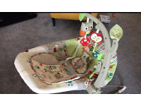 Fisher price vibrating bouncer like new