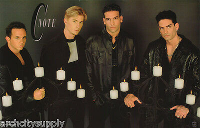 Poster   Music   C Note  Group Pose   Candles    Free Shipping  7542 Lw2 A