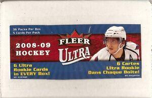 2008-2009 Ultra Hockey Base Set (200 cards)