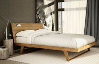 Malta bed by Mobican new for 2015 Canadian Made 15 wood choices