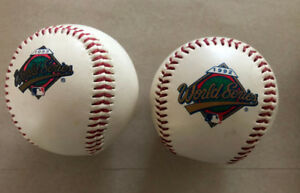 1992 and 1993 World Series commemorative Blue Jays Baseballs