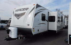 31 Foot Travel Trailer - PrimeTime Tracer Air - Bunk edition