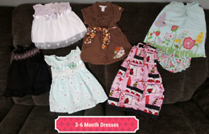 3-6 Month Girl Clothes