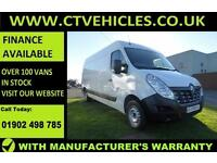 2016 16 plate Renault Master 2.3dCi LM35 125ps FWD LWB LM35dCi LWB 1 OWNER l3 h2