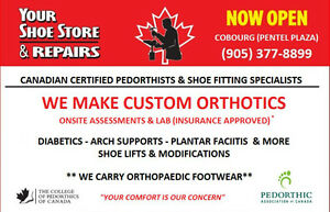 CUSTOM ORTHOTICS / SHOE REPAIRS & SALES Belleville Belleville Area image 2