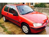Peugeot 106, DIESEL 60K, 1 previous owner