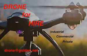 DRONE for HIRE                 drone@golden.net
