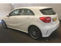 2015 WHITE MERCEDES A180 1.5 CDI AMG SPORT DIESEL MANUAL CAR FINANCE FROM 54 P/W