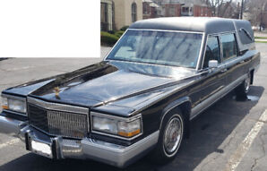 Classic 1991 Cadillac Brougham Funeral Coach (Hearse)
