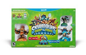Brand New Skylanders Swap Force Starter Kit Wii U