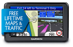 "Garmin nuvi 2455LMT 4.3"" GPS with Lifetime Maps and Traffic."
