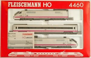 Fleischman HO Model Train ICE 4460, original box, never used