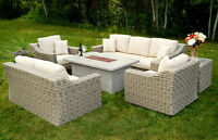 Outdoor Patio Furniture Set - Seating for 7