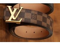 LV belt brand new box n receipt available now to buy