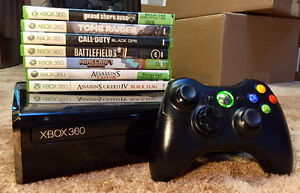 Used Xbox 360, controller, and games great condition