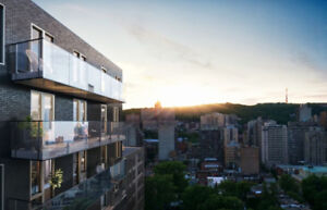 3 1/2 - *Furnished: New Condo > GYM > BBQ Rooftop,  Downtown MTL