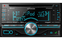 kenwood dpx500bt headunit with bluetooth and wiring harness