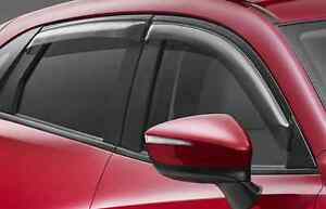 Mazda 3 genuine set of slim line weathershields front & rear new Rosewood Ipswich City Preview