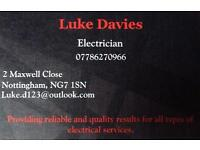 CERTIFIED ELECTRICIAN. FREE ESTIMATES.