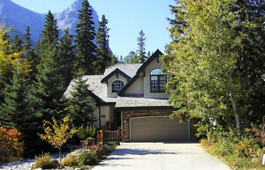 Large home for rent in Canmore