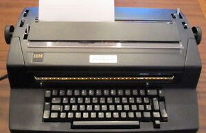 I.B.M. Selectric 2 Correcting Typewriters And Dust Cover
