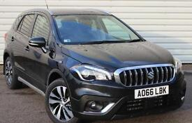 Suzuki SX4 S-Cross SZ-T 1.0 Turbo Petrol Manual 5 Door Crossover Black 2016