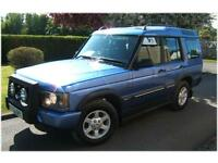 Land Rover Discovery 2.5 GS 7 Seater 4x4 2003 53 reg with 139000 miles