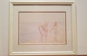 Canadian painter, Bilodeau, numbered limited, signed