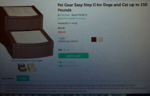 Deluxe Dog Ramp, 2 Stairs, 3 Stairs for Pets
