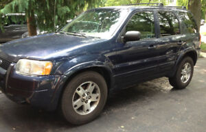 2004 Ford Escape Ltd. AWD | Mechanic Special | Winter Beater