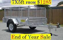 7×5 Box Trailer Galvanized END OF Financial year TAX SALE Coopers Plains Brisbane South West Preview