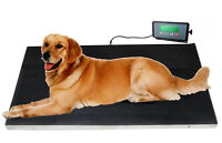 660 lbs VET Veterinary Platform Scale for Animal Pet Dog Cat Liv