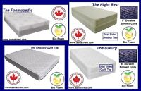 NEW FULL MATTRESSES & BOXSPRINGS! BRAND NEW - WINTER SALE ON NOW