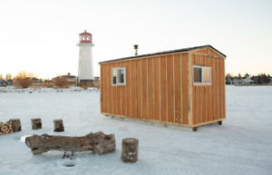 ICE FISHING HUT SYLVAN LAKE OPEN FEB 25 - 28