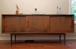 Mid century modern credenza kijiji in ontario. buy sell & save