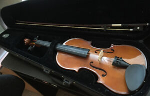 Two good condition student full sized violins (New West)