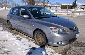 2005 Mazda Mazda3 GS Sport Hatchback (E-tested, as-is)