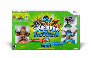 Wii - Skylanders Swap Force with many extra characters