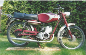 1966 DUCATI CADET 100 4 SPEED (two complete bikes and parts)